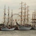 В Ростоке «Седов» принял участие в фестивале-регате Hanse Sail. Фото Александра Кучерука.