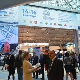 Международный рыбопромышленный форум и Выставка рыбной индустрии, морепродуктов и технологий проходили в Санкт-Петербурге с 14 по 16 сентября. Фото пресс-службы Росрыболовства