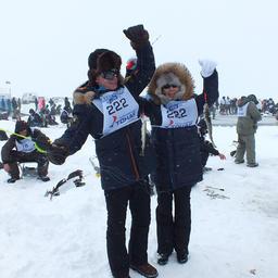 В «Сахалинском льду» приняли участие и губернатор Олег КОЖЕМЯКО с супругой