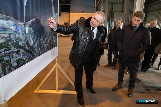 В Сахалинской области подготовили техзадание на проектирование объектов рыбного кластера для порта Корсаков. Фото пресс-службы губернатора и правительства региона