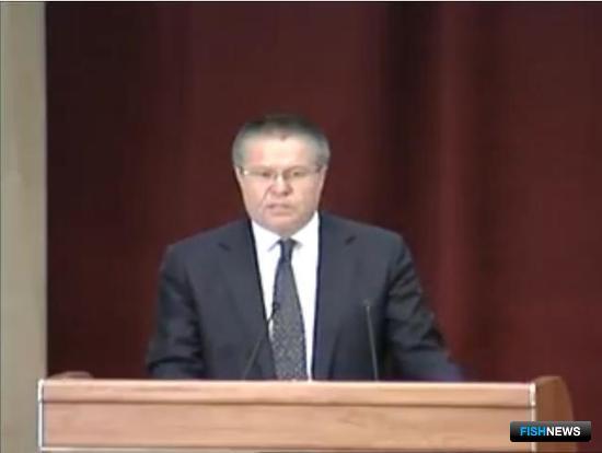 Министр экономического развития Алексей Улюкаев на коллегии