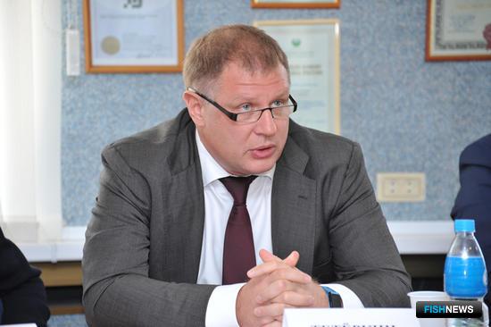 Генеральный директор и член совета директоров ООО «Русская Рыбопромышленная Компания» Андрей ТЕТЕРКИН