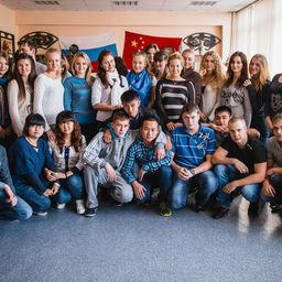 Студенты Международного института после первого семестра продолжают учебу в вузах Китая. Фото информационно-аналитического отдела Дальрыбвтуза.