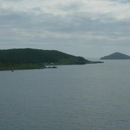 Береговой пейзаж на Дальнем Востоке