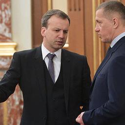 Заместители председателя правительства Аркадий ДВОРКОВИЧ и Юрий ТРУТНЕВ. Фото с сайта Лента.ру