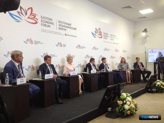 Ключевая сессия ВЭФ «Водные биоресурсы Дальнего Востока в обмен на инвестиции»