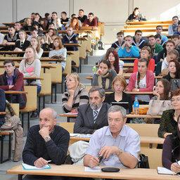 Основной аудиторией стали студенты Дальрыбвтуза, а также преподаватели университета и специалисты рыбопромышленных предприятий Приморья