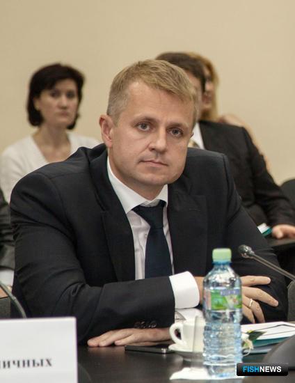 Представитель группы компаний «Примрыбснаб» Александр ШУЛДЫК