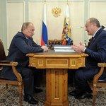 Владимир Путин провел рабочую встречу с губернатором Камчатского края Владимиром Илюхиным. Фото пресс-службы Президента РФ.