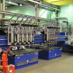 Новое оборудование монтируется на заводе