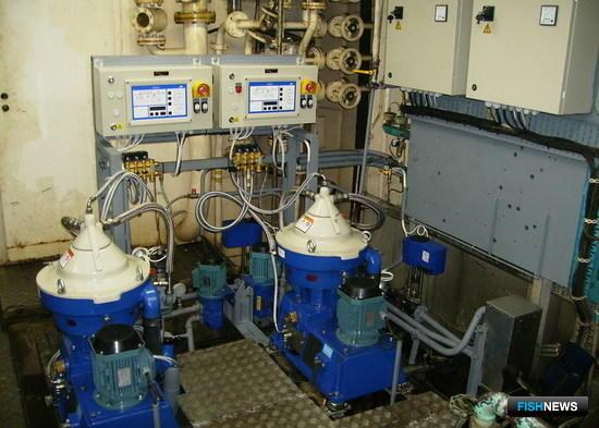 Сепарационные установки масла и топлива «Альфа Лаваль»