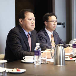 Президент компании «Лотте Корпорпорэйшн» Хванг Каг ГЮ. Фото Минвостокразвития