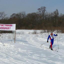 Финиширует серебряный призер в личном первенстве Борис БУДАНЦЕВ (ОАО «ПБТФ»)