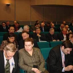 Совещание руководителя Росрыболовства С. Ильясова с руководителями подведомственных организаций. Москва, апрель 2007 г.