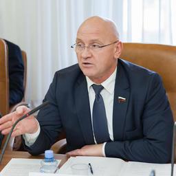 Член Комитета ГД по природным ресурсам, собственности и земельным отношениям Константин СЛЫЩЕНКО
