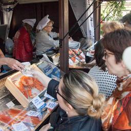 «Русская рыбная фактория» приняла активное участие в московской «Рыбной неделе»