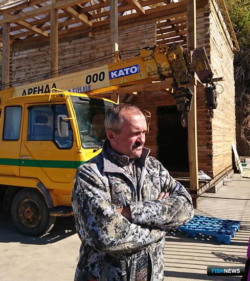 Директор компании «ДВ-Ресурс» Анатолий МАЛИНОВСКИЙ