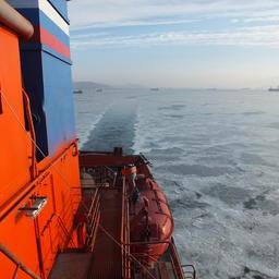 Отремонтированный спасатель «Сибирский» отправился на ходовые испытания