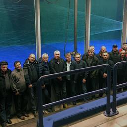 В крупнейшем в Европе гидролотке в городе Хиртсхальс (Дания) дальневосточникам показали работу современных тралов от «Фишеринг Сервис» и исландской компании Hampidjan