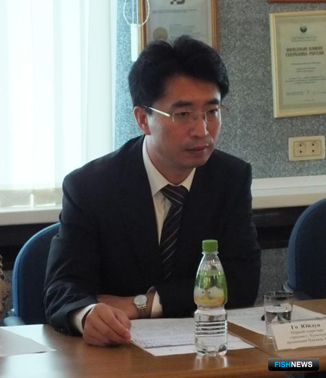 Первый секретарь горкома Хунчуня Го ЮЙЛУН