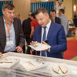 На выставке World Food Moscow с Borealis познакомился заместитель руководителя Росрыболовства Петр САВЧУК