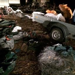 У браконьеров изъяли лососевую икру, два автомобиля, лодки, сети и квадроцикл. Фото пресс-службы СВТУ.