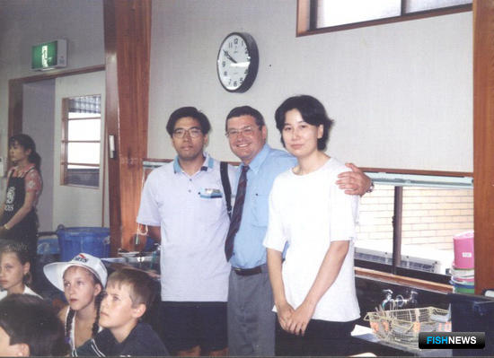 Обмен детским отдыхом с японской стороной. Август 1997 г., город Исикава. Фото предоставлено Владимиром Нагорным