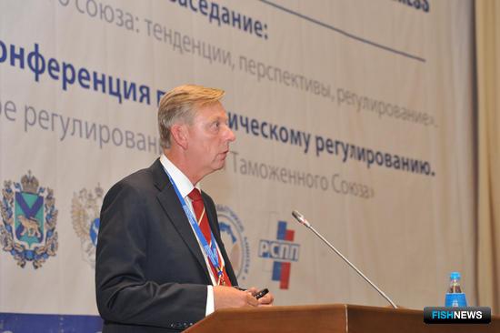 президент европейской ассоциации рыбопереработчиков и трейдеров Пастор Густав