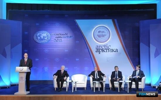 II Международный арктический форум «Арктика – территория диалога». Фото пресс-службы Правительства РФ.