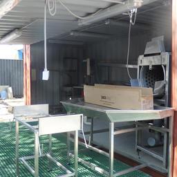 При необходимости модульный цех может быть оснащен плиточным морозильным аппаратом. Фото ООО «Технологическое оборудование»