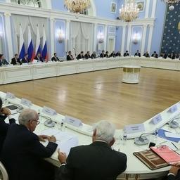 30-е заседание Консультативного совета по иностранным инвестициям в России. Фото пресс-службы Правительства РФ