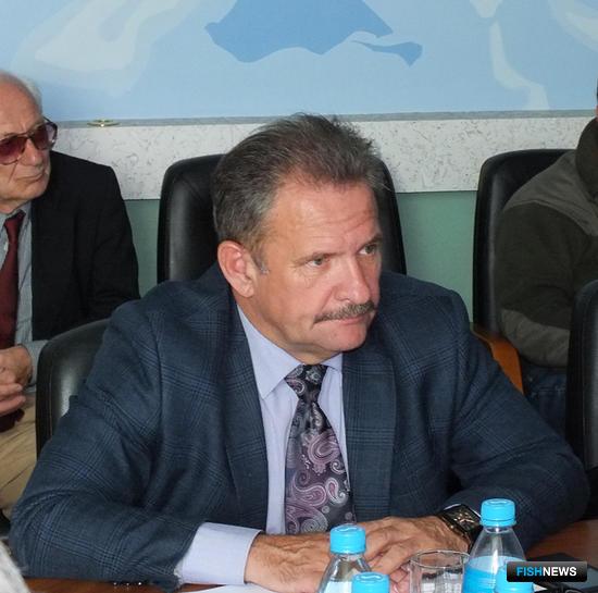 Президент Ассоциации рыбопромышленных предприятий Приморья Георгий МАРТЫНОВ