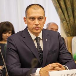 Заместитель председателя правительства - министр рыбного хозяйства Камчатского края Владимир ГАЛИЦЫН