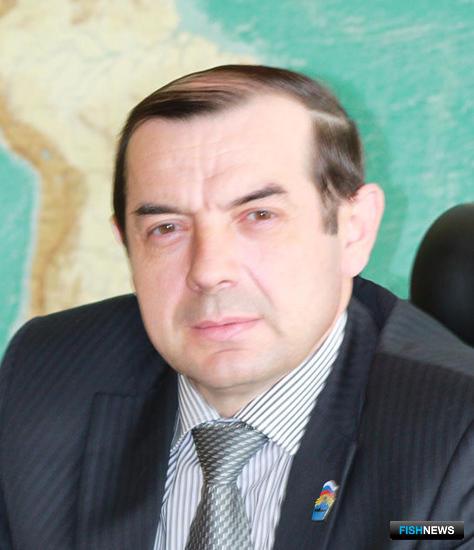 Председатель Рыболовецкого колхоза им. В.И. Ленина Сергей ТАРУСОВ