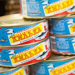 В салоне «Рыба и морепродукты» на главных ролях были консервы всех разновидностей