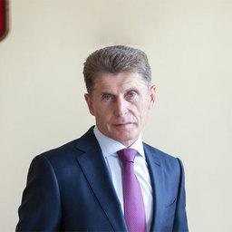 Врио губернатора Сахалинской области, руководитель рабочей группы по проведению заседания президиума Госсовета Олег КОЖЕМЯКО