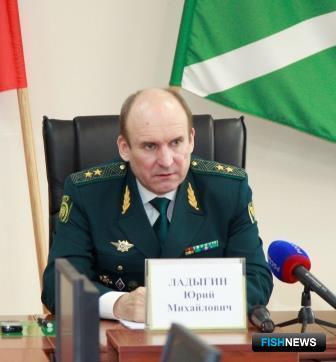 Начальник ДВТУ Юрий ЛАДЫГИН. Фото пресс-службы таможенного управления