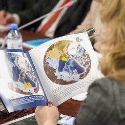 Арктические воды теряют ледяной щит