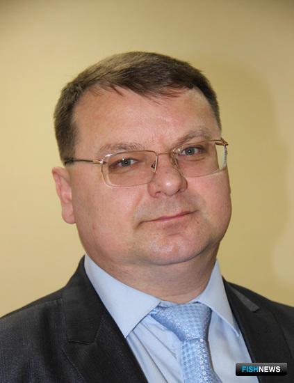 Руководитель агентства по рыболовству Сахалинской области Павел КОЛОТУШКИН