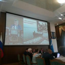 Выступление президента ВАРПЭ Германа ЗВЕРЕВА