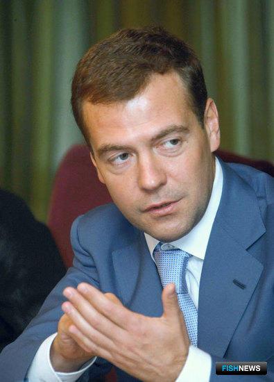Дмитрий МЕДВЕДЕВ. Фото пресс-службы Администрации Президента