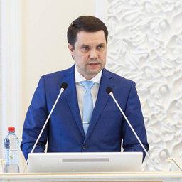 Министр АПК и торговли Архангельской области Алексей КОРОТЕНКОВ