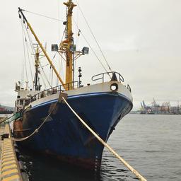 Во Владивосток из промыслового рейса вернулся СРТМ «Таманго» (ООО «Антей»)