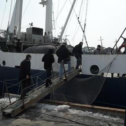 """Посещение рыбопромысловых судов специалистами компании """"Альфа Лаваль"""""""