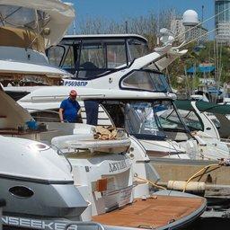 В столице Приморья прошла международная выставка яхт и катеров Vladivostok Boat Show 2016. Фото предоставлено организаторами