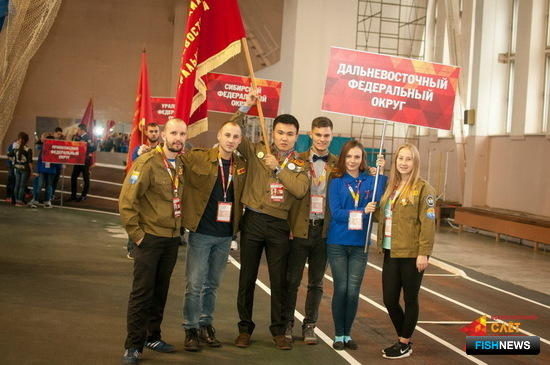 Во Всероссийском слете Российских студенческих отрядов приняли участие представители Камчатского края. Фото пресс-службы правительства региона