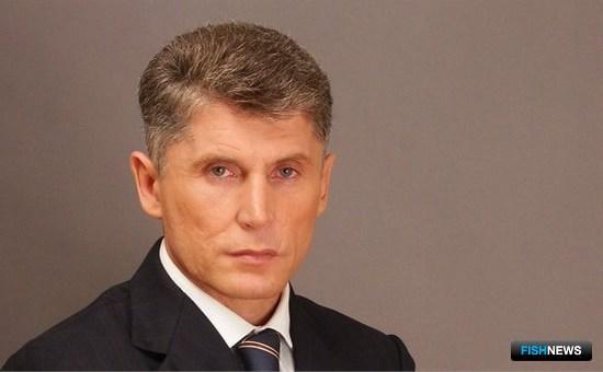 Глава Сахалинской области Олег КОЖЕМЯКО. Фото с сайта astv.ru