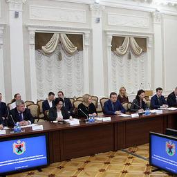 В Карелии прошло первое заседание регионального совета по вопросам развития рыбохозяйственного комплекса. Фото пресс-службы главы республики