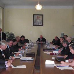 заседание Совета Всероссийской ассоциаиции рыбохозяйственных предприятий, предпринимателей и экспортеров (ВАРПЭ), Москва, 12 октября, 2010 г.