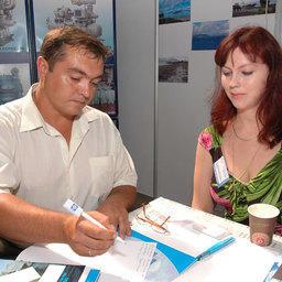 5-я специализированная выставка-ярмарка «Перспективы развития рыбной отрасли». Владивосток, сентябрь, 2008 г.